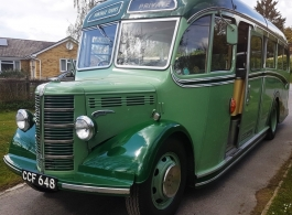 1949 Bedford Bus for wedding hire in Basingstoke